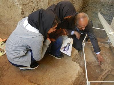 Paleoparasitological evidenceof pinworm زن هفت هزار ساله تهرانی